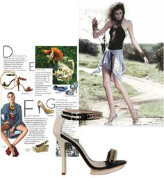 Salto Estiletto - Revista Vogue  #guilhermina #sapatodeluxo #guilhermina_shoes #estiletto #trend #Verao2013 #moda #calcadosfemininos #shoes #vogue