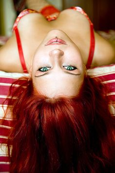 great red hair