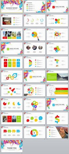 31+ Creative business Report PowerPoint template #powerpoint #templates #presentation #animation #backgrounds #pptwork.com #annual #report #business #company #design #creative #slide #infographic #chart #themes #ppt #pptx