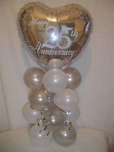 25th wedding anniversary 18 foil balloon decoration 25th 25th wedding anniversary 18 foil balloon decoration 25th wedding anniversary pinterest anniversary decorations 25 wedding anniversary and 25th junglespirit Choice Image