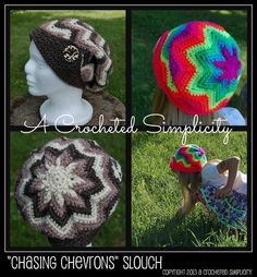 Another awesome pattern from A Crocheted Simplicity.  Pin it for a chance to win it.