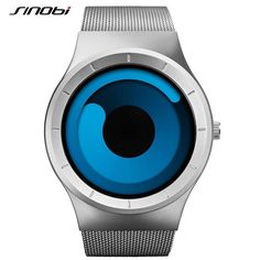SINOBI Brand 2016 Now Men Watches Stainless Steel Mesh Strap Sport Watches for Men Fashion Quartz Wristwatches Relogio Masculino Who like it ? Geek Watches, Cute Watches, Mens Sport Watches, Watches For Men, Wrist Watches, Ladies Watches, Cheap Watches, Awesome Watches, Trendy Watches