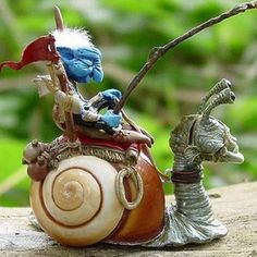 Artist Jill Willich creates fairies and goblins and creatures in polymer clay.