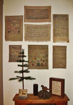 Samplers and Santas (Marly)