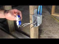 how to trace electrical wiring in a wall home construction and how to wire an outlet in series
