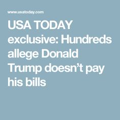 And yet people think he can make America great again..wake up people, everything that comes out of his mouth are lies. He is not fit to be in the white house