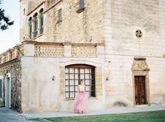 Photography : Mireia Cordomí Read More on SMP: http://www.stylemepretty.com/little-black-book-blog/2014/12/11/romantic-pink-navidad-wedding-inspiration/