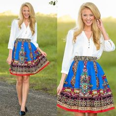 NWT Stunning Bohemian Skirt This stunning bohemian skirt is stylish and classy, you're sure to be the talk of the town or at least the talk of brunch in this beauty. Condition: New with Tag Skirts Midi
