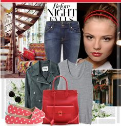 """Before Night Falls"" by bklana ❤ liked on Polyvore"