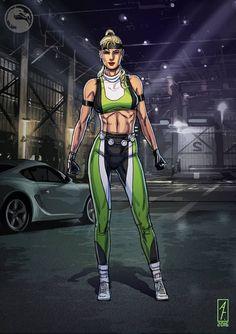Mortal Kombat 2, Sonya Blade, Broly Movie, Arte Nerd, Female Characters, Fictional Characters, Manga, Video Games, Fitness Models