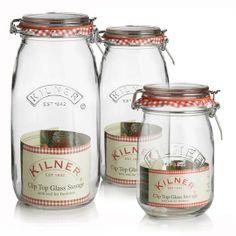 Kilner Traditional Clip Top Jar - 1.5L, 2L and 3L