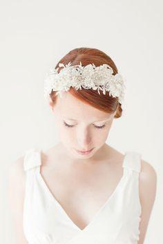 Wedding Bridal Fascinator Head Piece Rhinestone