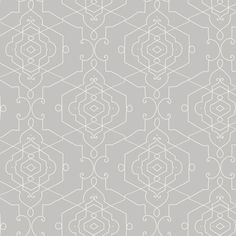 Love the fine lines on this wallpaper for a more subtle geometric sensibility. yorkwall.com