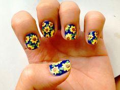 Nail Art decoradas con flores. ¡Mira que diseños!
