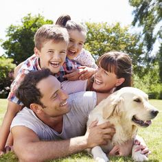 Be sure to spend some quality time with your family this weekend - and that includes your pets!