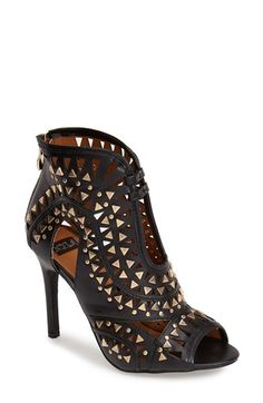N.Y.L.A. 'Zalan' Studded Cutout Sandal (Women) available at #Nordstrom