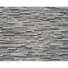 """Brewster Home Fashions Slate 8' x 118"""" 6 Piece Wall Mural Set"""