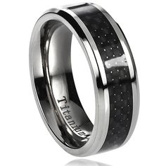 West Coast Jewelry Stainless Steel Mens Flat Band Ring Wedding