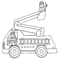 Fire Truck Coloring Pages . 30 New Fire Truck Coloring Pages . Free Printable Fire Truck Coloring Pages for Kids