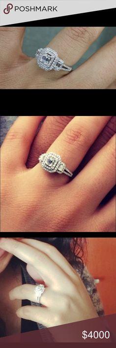 Helzberg: Emerald cut diamond ring Helzberg: Emerald cut diamond ring Jewelry Rings