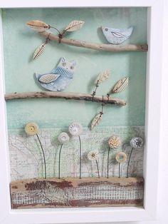 Little Owl and Bird - Shirley Vauvelle