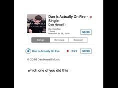 So, I looked it up on iTunes, and it IS a thing, but a fan put it up and not Dan, who stated that he did not want it on iTunes. With that being said, do NOT buy it. :)