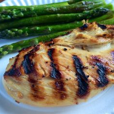 Healthy chicken recipes for the oven, slow cooker, grill, and more. Find a tasty low-calorie chicken dish for tonight's dinner. Grilled Chicken Recipes, Marinated Chicken, Healthy Chicken, Grilled Meat, Unbelievable Chicken Recipe, Turkey Recipes, Dinner Recipes, Dinner Ideas, Lime Marinade For Chicken