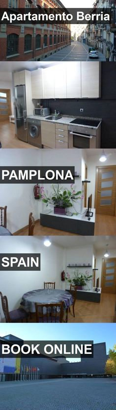 Hotel Apartamento Berria in Pamplona, Spain. For more information, photos, reviews and best prices please follow the link. #Spain #Pamplona #ApartamentoBerria #hotel #travel #vacation