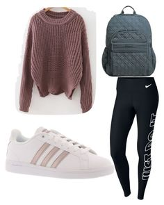 """""""Untitled #2"""" by doscelyn-javis on Polyvore featuring NIKE, adidas and Vera Bradley"""