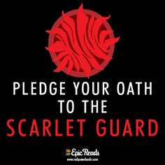 An advance copy of GLASS SWORD by is at stake! Help complete our secret missions and series exclusives will be yours! Join the Scarlet Guard here. Red Queen Movie, Red Queen Book Series, Red Queen Quotes, Red Queen Victoria Aveyard, King Cage, Young Adult Fiction, I Still Love You, Book Tv, Book Memes