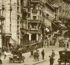 São Paulo -  Avenida São João anos 20 do século XX
