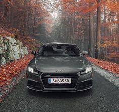 Grey Audi TT 2015