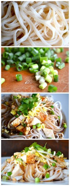 BETTER-THAN-TAKEOUT EASY PAD THAI~ use GF noodles. Rice noodles