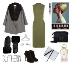 The Everyday Slytherin Look - Like A Lady #21 by realslytherinpride on Polyvore featuring WearAll, Thakoon Addition, Salvatore Ferragamo, Dolce&Gabbana, John Hardy, Ted Baker, Forever 21, Oscar de la Renta, Smythson and harrypotter