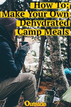 Backpacking and hiking meals you can make yourself. You are in the right place about Backpacking korean Here we offer … Camping Diy, Bushcraft Camping, Camping Meals, Family Camping, Tent Camping, Camping Hacks, Outdoor Camping, Camping Recipes, Camping Cooking