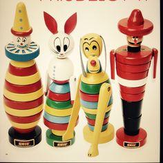 Antique Toys, Vintage Toys, Brio Toys, Fred Flintstone, Tyres Recycle, Stacking Toys, Toy Boxes, Tigger, Wooden Toys
