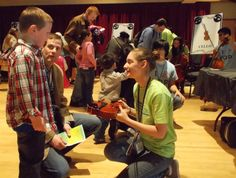 Instrument Petting Zoo 3/15/14 preceding the Lollipops performance with dedicated and awesome Richmond Symphony Youth Program volunteers!