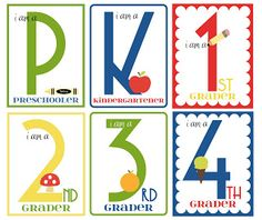 UPDATED Back to School Printables at {I Heart Naptime}