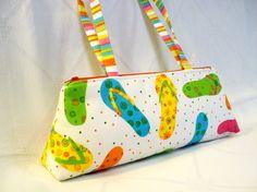 flip flop purse
