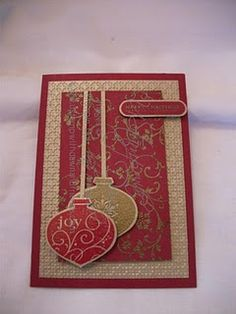 christmas card - decorative decorations