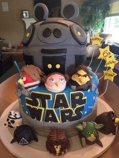Star Wars Angry Bird Cake