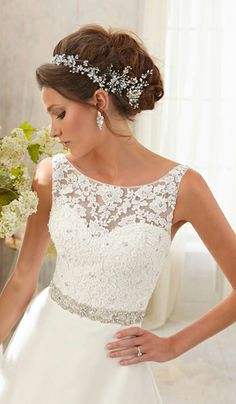 In love. lace tops, lace wedding dresses, big wedding dress, ivory wedding dresses, bridal dresses, lace wedding dress with straps, wedding dress wedding dresses, wedding dresses with straps, hair accessories