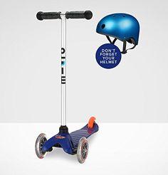 Micro Mini Kick Scooter - Blue Micro Kickboard