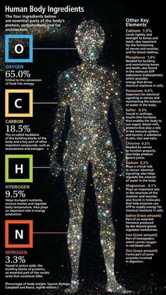 We're all made of star dust