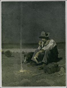 N.C. Wyeth - Scribner's Magazine (January/1909)  A Sheep-Herder of the Southwest