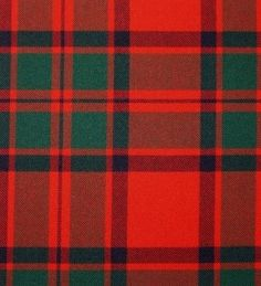 MacIntosh Clan Modern Tartan. Strome Heavy Weight Fabric from Lochcarron of Scotland, sold by the metre. 500-515gm per linear metre 138 cm wide. . . Sold by TartanPlusTweed.com A family owned kilt and gift shop in the Scottish Borders