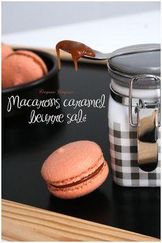 Macarons caramel beurre salé...juste extra ! - Croquez, craquez