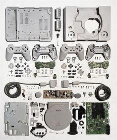 Sony's video gaming console poster PLAYSTATION was released in the early and soon became the best selling console of all time. Game Boy, Skyrim, Consoles, Videogames, Xbox One, Sony, Things Organized Neatly, Mario, Playstation Games