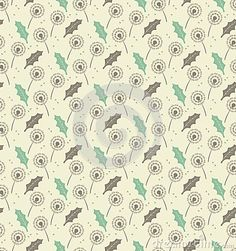 Seamless Pattern Dandelion Leafs And Seeds - Vector Stock Vector - Illustration of color, leaf: 39370345 Dandelion, Backdrops, Seeds, Royalty Free Stock Photos, Gift Wrapping, Leaves, Illustration, Flowers, Pattern