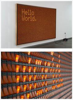 light wall.